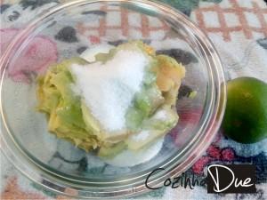 Abacate com açúcar