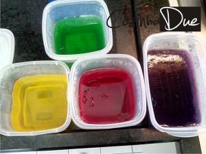 gelatinas separadas